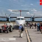 Самолет в аэропорте Подгорицы