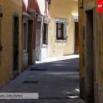 Узкая улочка в Триесте