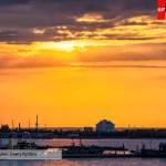 Закат на гаванью