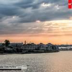 Солнце над заливом