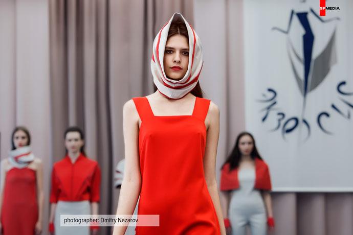 Репортаж с показа мод